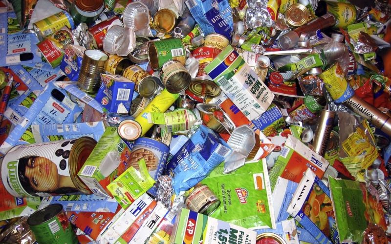 Recycling Verpackungsmüll - (c) piu700  / pixelio.de