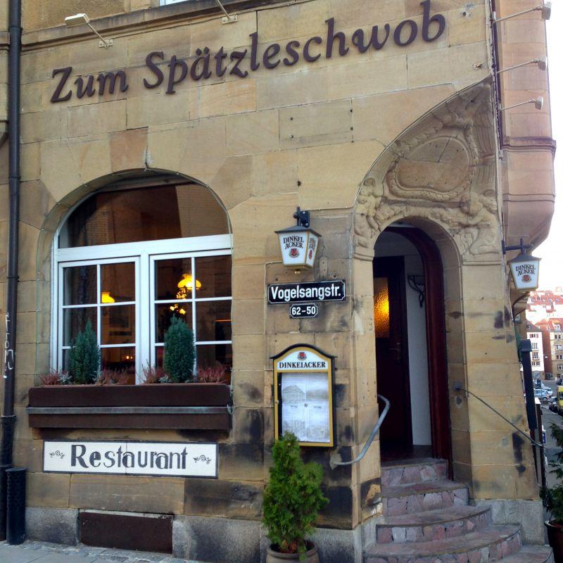 Zum Spätzleschwob Stuttgart West Gaststätte / Wirtshaus, Schwäbische Küche