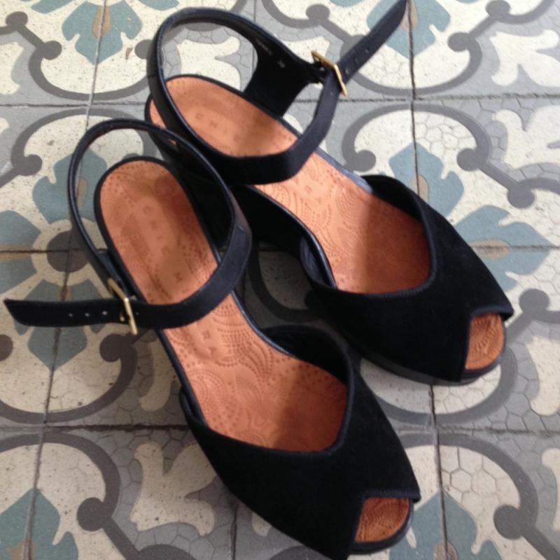 Schuhe von Chie Mihara - Rosenrot Secondtrend.de - Stuttgart