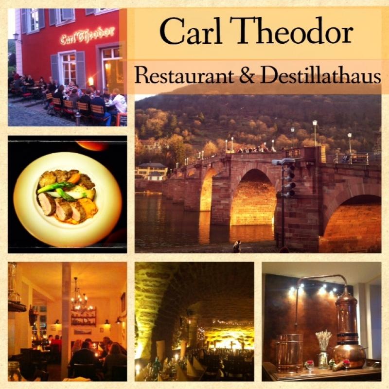 Freizeit in Heidelberg geniessen! - Carl Theodor Restaurant & Destillathaus - Heidelberg