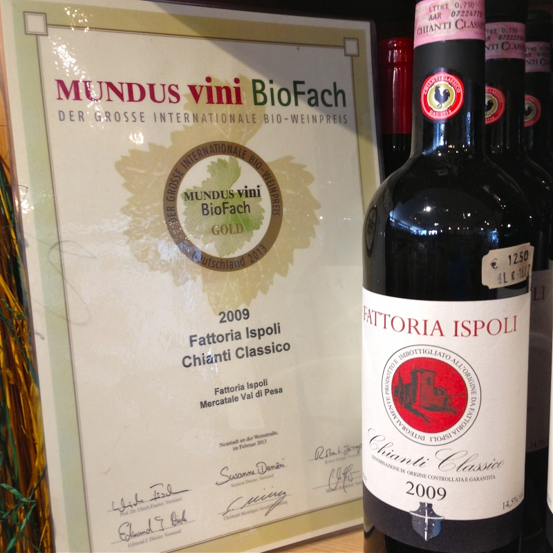 Chianti Classico 2009 Fattoria Ispoli - Wein & Tee Lädle - Ludwigsburg