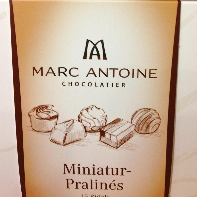 MARC ANTOINE CHOCOLATIER Miniatur-Pralines  - K&M Confiserie<br>Kaffee ● Tee ● Wein - Fellbach