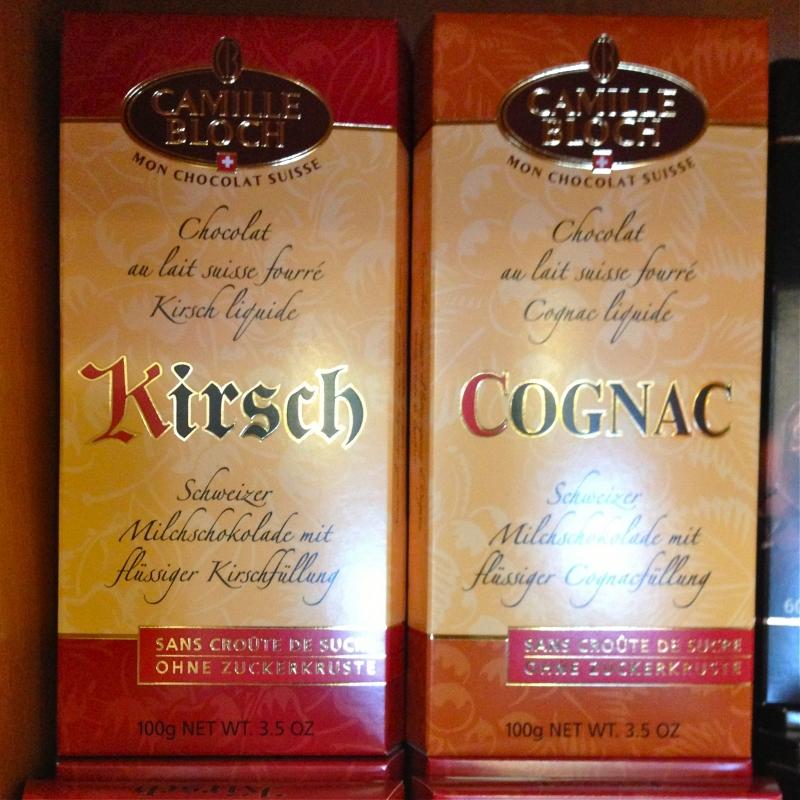 Schweizer Schokolade CAMILLE BLOCH + MON CHOCOLAT SUISSE - K&M Confiserie<br>Kaffee ● Tee ● Wein - Fellbach