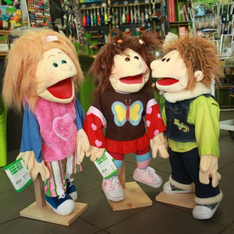 Handpuppen von Living Puppets  - PAPPNASE & CO. - Stuttgart