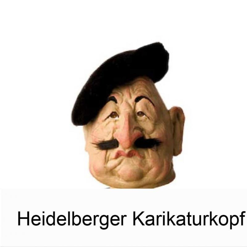 Heidelberger Karikaturkopf -  Wine Stopper - CLASSIC TIMES - Heidelberg