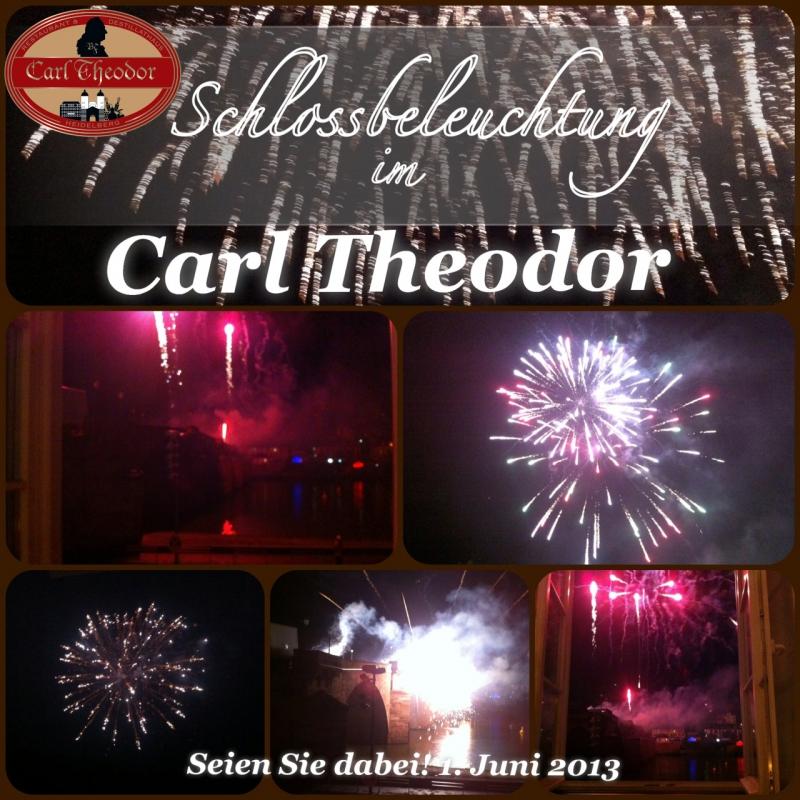 Schlossbeleuchtung Heidelberg - Carl Theodor Restaurant & Destillathaus - Heidelberg