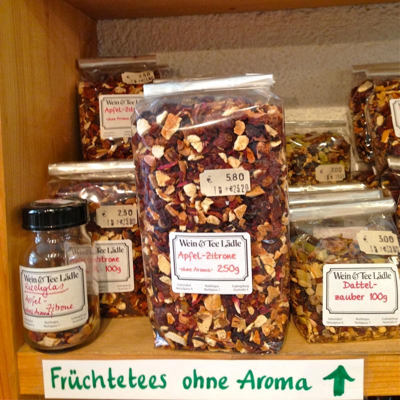 Früchtetees ohne Aroma - Wein & Tee Lädle - Ludwigsburg