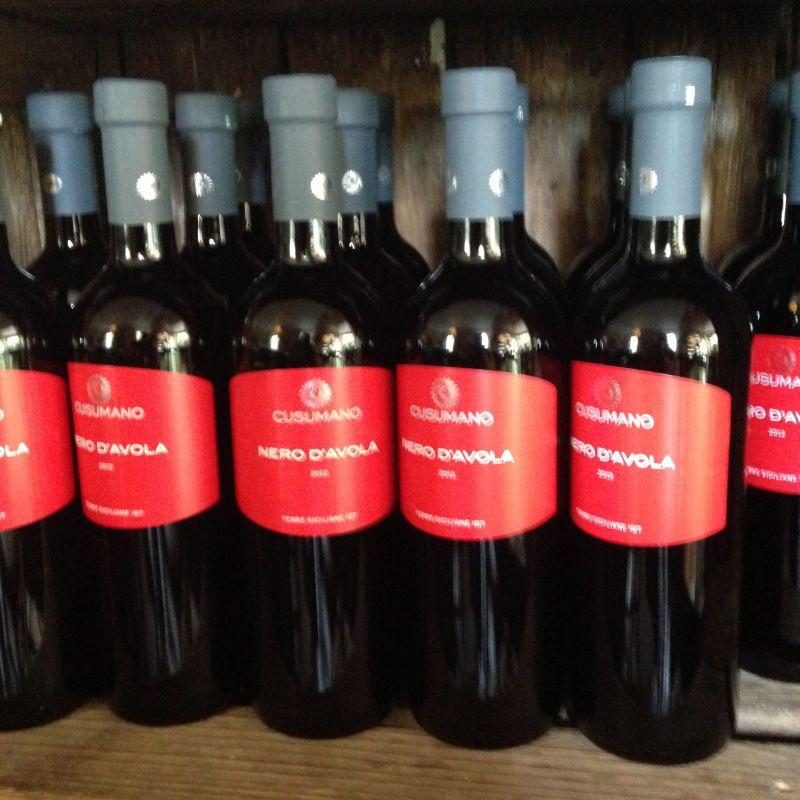 CUSUMANO NERO DÀVOLA - Wein aus Sizilien - ATTIMI - Stuttgart