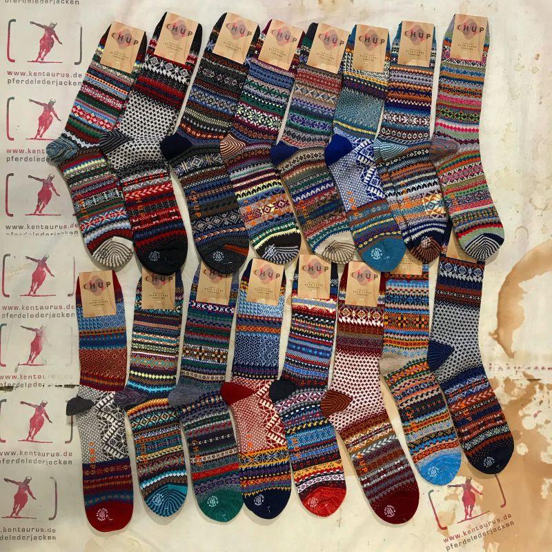Chup Socks von Glen Clyde aus Japan, Wolle und Baumwolle, M und L , EUR 40,- - Kentaurus Pferdelederjacken - Köln
