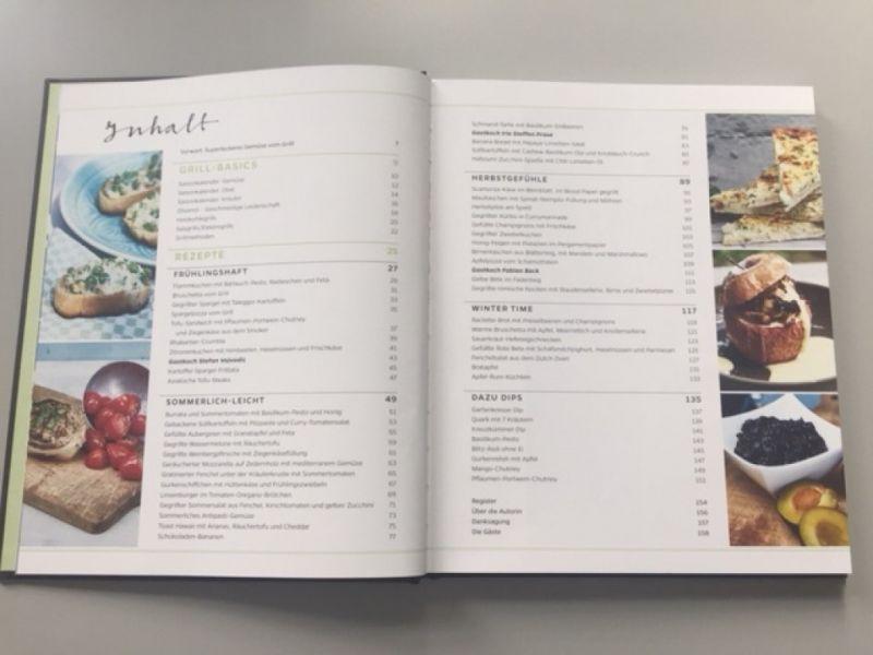 Ja, ich Grill vegetarisch / Mona Fütterer / EMF Verlag / Christine Pittermann