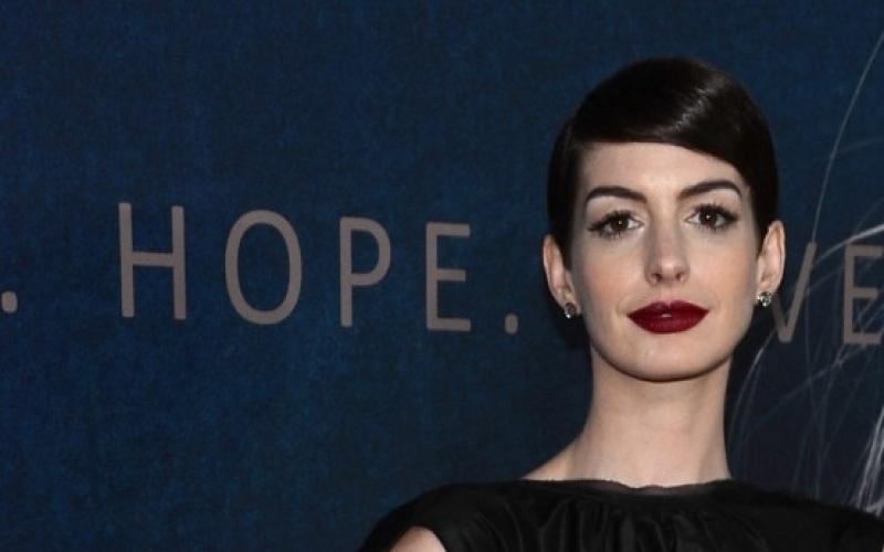 "Anne Hathaway am 10. Dezember bei der Premiere von ""Les Miserable"" in New York - (c) Larry Busacca / Getty Images"