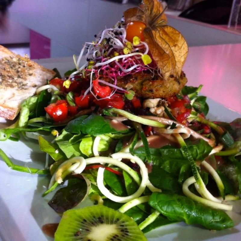große Vorspeise - VELO Vegetarisches Restaurant - Heilbronn