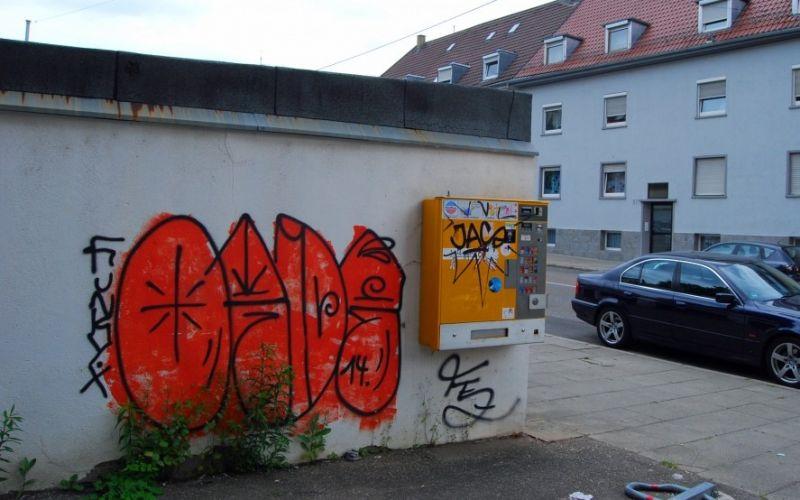 Graffitti in Stuttgart