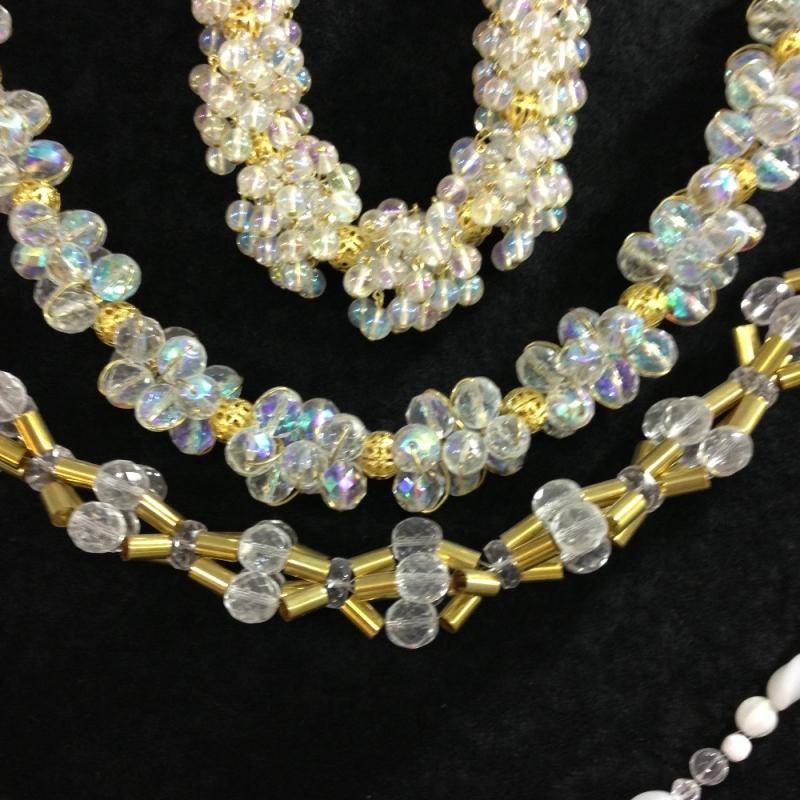 Halskette aus Böhmischen Glas - Beads-N-More Glasperlen und Zubehör - Stuttgart