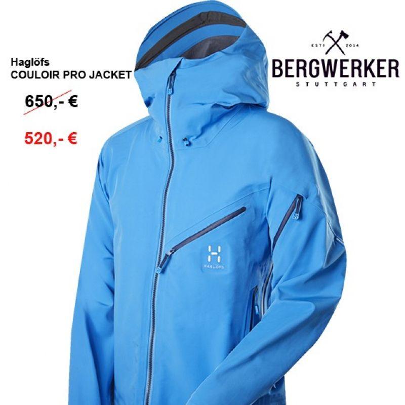 Haglöfs Couloir Pro Jacket (gale blue, dynamite, yellow) - Bergwerker - Stuttgart