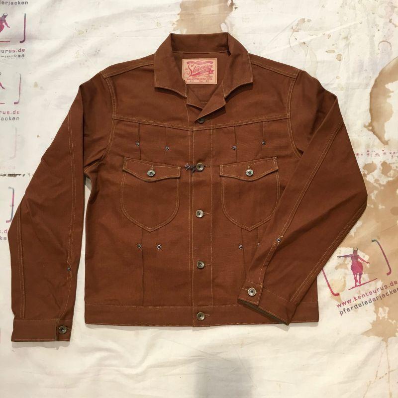 Stevenson Overall SS17: Slinger jacket tan, Grössen L - XXL, EUR 460,- - Kentaurus Pferdelederjacken - Köln