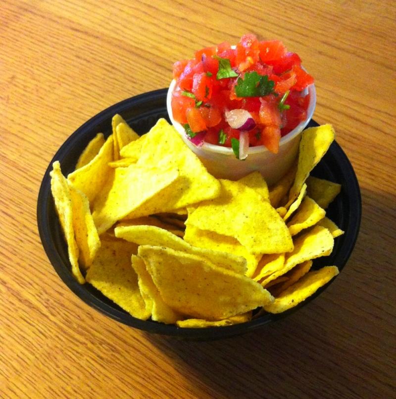 Chips und Salsa - BAY AREA BURRITO CO - Bay Area Burrito Company - Köln