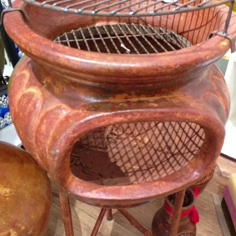 Terassen Kamine aus Mexico; Azteken-Ofen aus Ton - LUNA VIVA - Schorndorf- Bild 3