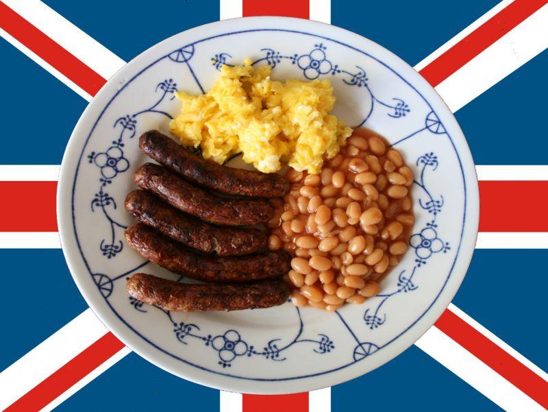 Ein deftiges englisches Frühstück füllt den Magen ungemein. - (c) Sandra Krumme / pixelio.de