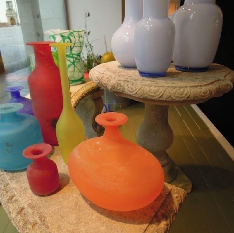Cenedese Vasen a Scavo, mundgeblasenes Muranoglas. - Marcolis Supreme Italian Products - Stuttgart- Bild 2