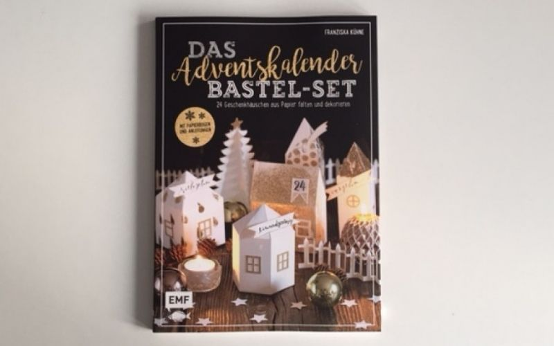 Das Adventskalender Bastel-Set aud dem EMF Verlag / Christine Pittermann