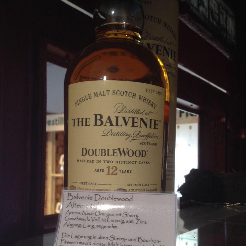 The Balvenie Single Malt Scotch - Spirit - Homburg