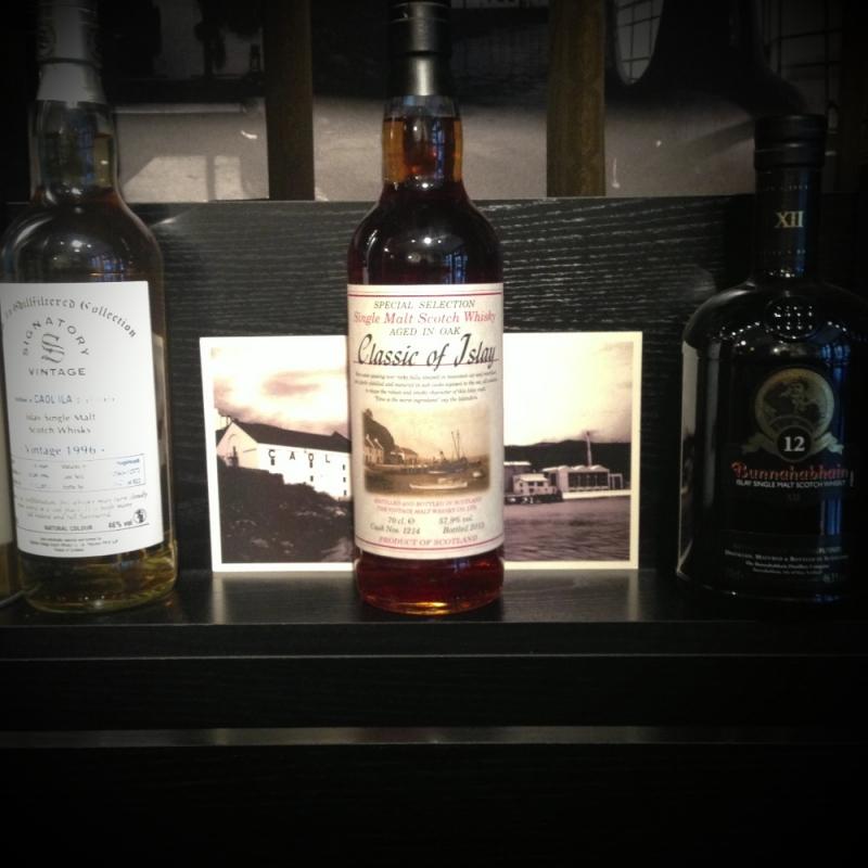 Classic of Islay Single Malt 57.9% vol. Einzelfass - Whiskystock Habanos-Zigarren - Stuttgart