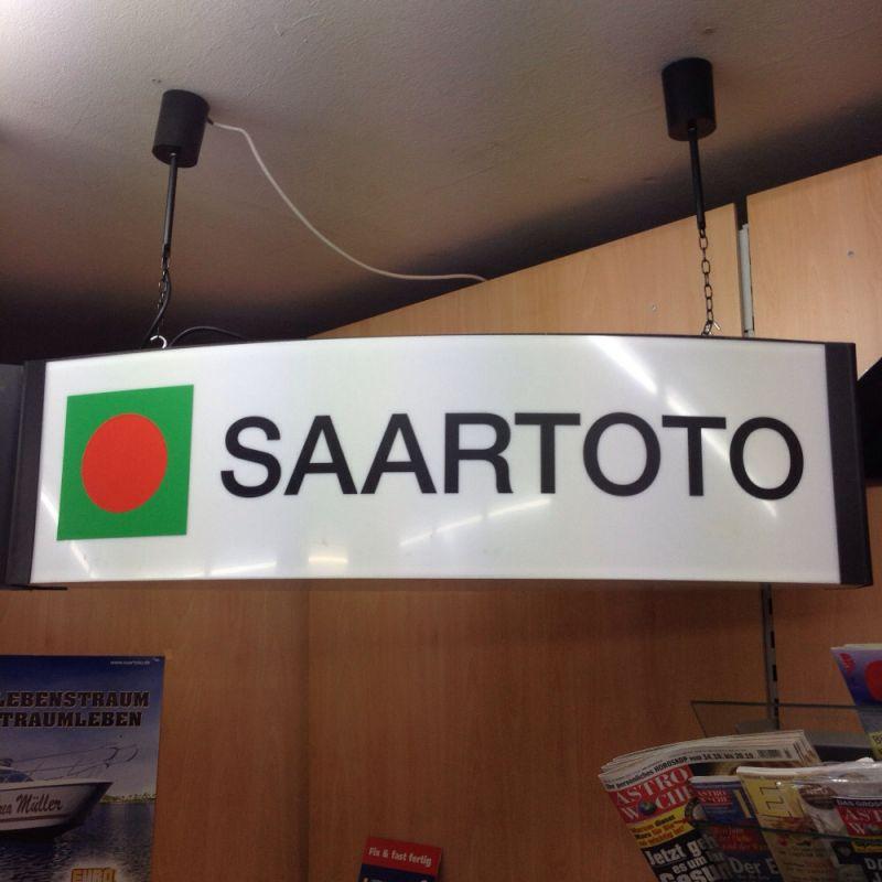Saartoto Annahmestelle - Schreibwaren Trimpl - Homburg