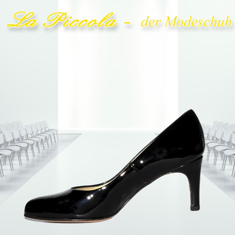Peter Kaiser BIKCLA 65 SCHWARZ LACK LEDERFUTTER - La Piccola der Modeschuh - Pulheim