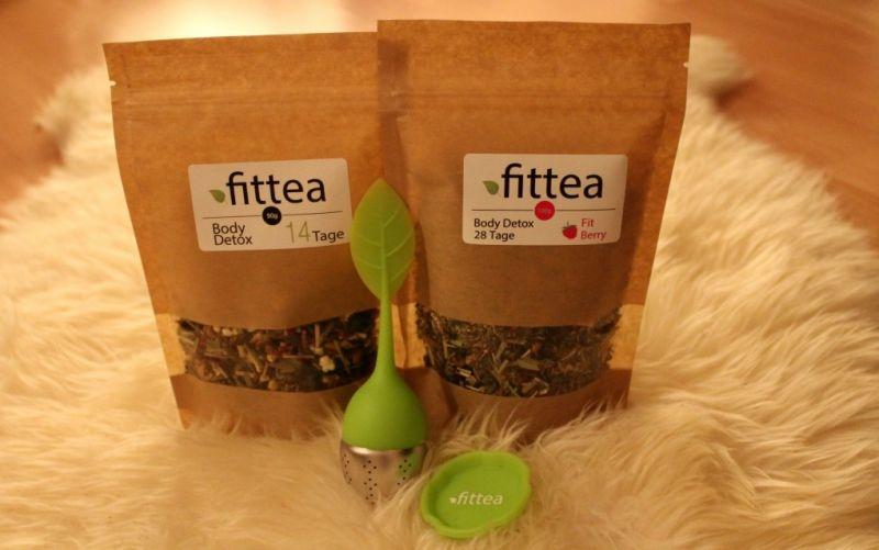 Body Detox Tea & Fit Berry Detox Tea von Fittea