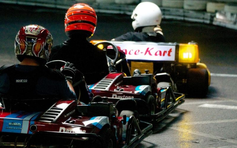 - (c) www.flickr.com/photos/supermac/ Kart racing can be close racing!/https://farm5.staticflickr.com/4135/4941746572_61a9725110_z_d.jpg