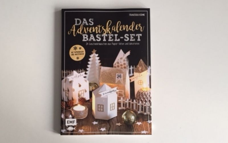 Das Adventskalender Bastel-Set aud dem EMF Verlag / Christine Pittermann