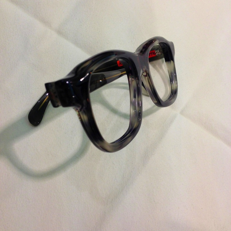 Handgefertigte Brille ( Einzelstück) von Rainer Kalb, Gesellenstück von 1976 - Optiker Kalb - Stuttgart- Bild 3