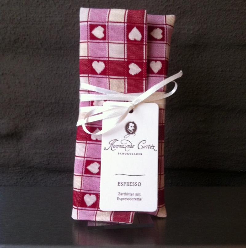 Hernando Cortez Schokoladen - ESPRESSO - Zartbitter mit Espressocreme - Hernando Cortez Schokoladen - Köln