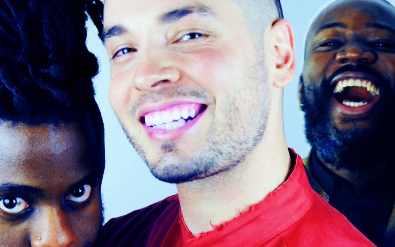 Young Fathers - (c) Young Fathers Self Portrait