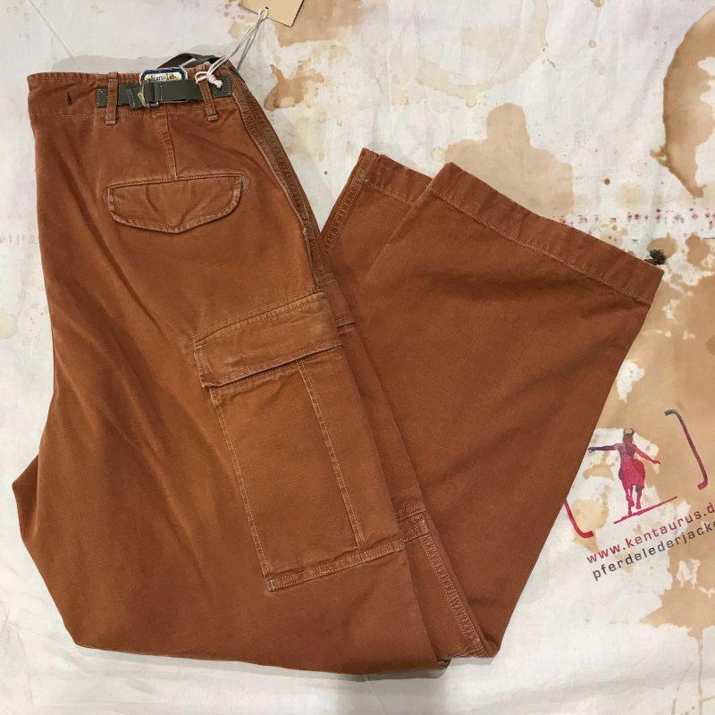Scartilab SS18: 100% cotton cargo pant tan, sizes 32 and 34, EUR 362,- - Kentaurus Pferdelederjacken - Köln