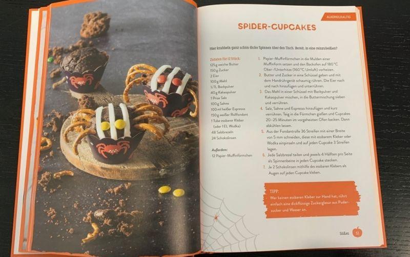Süsses oder Saures / Das Halloween Kochbuch / Patrick Rosenthal