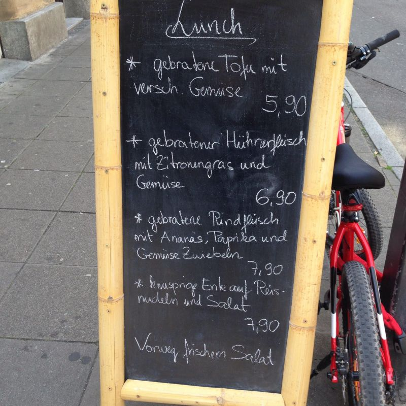 Lunch - Sen Restaurant - Stuttgart