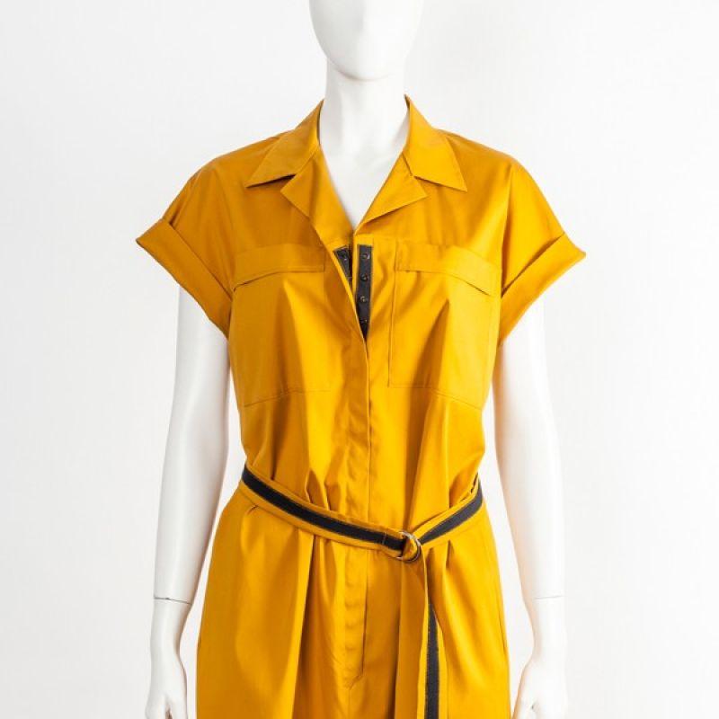 Kleid Baumwolle / Seide / Lycra  - Ilse Stammberger - Köln