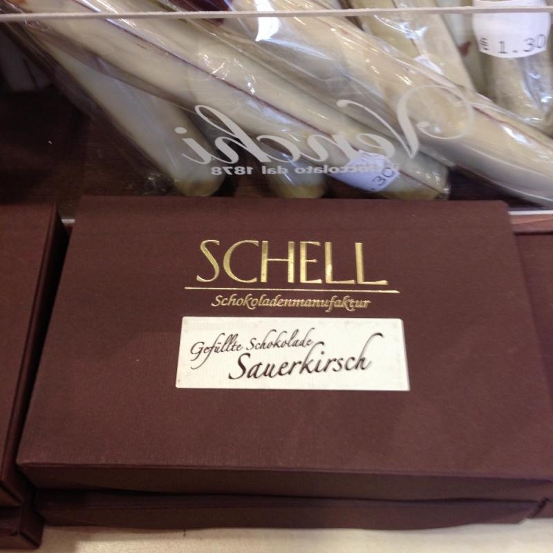 Schell Schokolade - Confiserie Selbach - Stuttgart- Bild 1