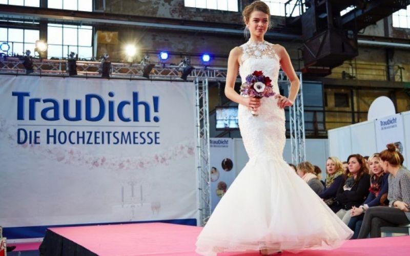 Modenschau für Brautmode bei ber TrauDich! Hochzeitsmesse - (c) TrauDich!/Heike Möllers - Photography