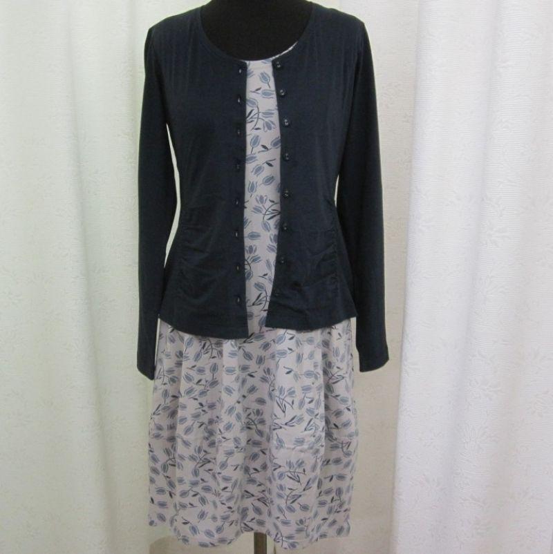 Consequent Kleid mit passender Jacke bei Ingrid Moden Augsburg. - Ingrid Moden - Augsburg- Bild 1