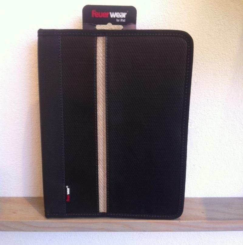 feuerwear iPad Tasche - RICK - black - Unikat aus Feuerwehrschlauch - LA SEDA Modeschmuck - Köln
