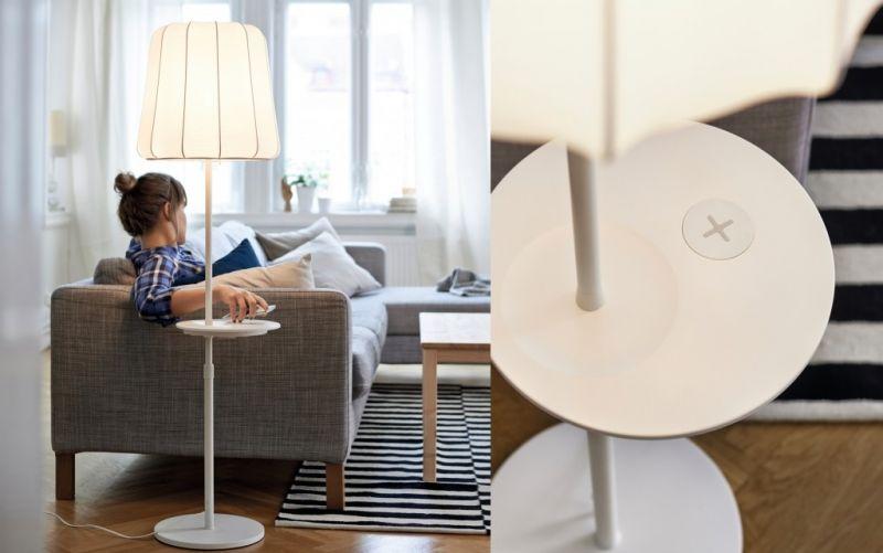 Neue IKEA Design-Kollektion mit kabelloser Ladefunktion  - (c)      IKEA Deutschland GmbH & Co. KG