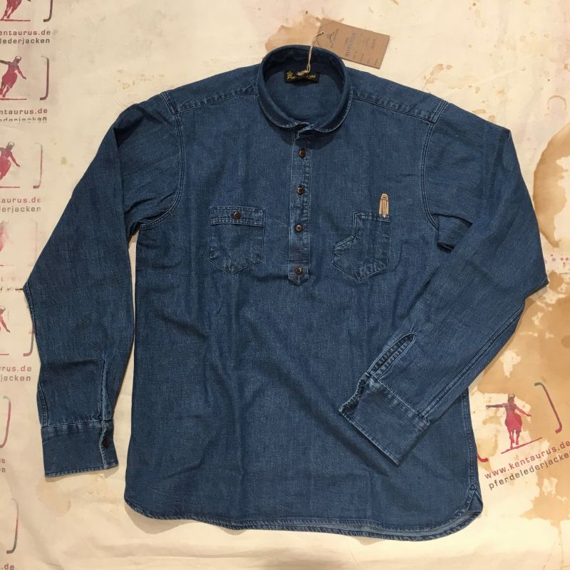 Pike Brothers: 1908 Miner Shirt 9 oz metal rinsed   , Grössen: S - XXXL, EUR 128,- - Kentaurus Pferdelederjacken - Köln