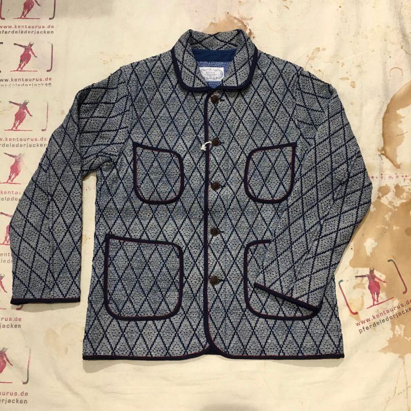 Setto, Japan:  Sashiko Shawl Collar Jacket, heavy cotton, sizes M - L - XL, EUR 432,- - Kentaurus Pferdelederjacken - Köln