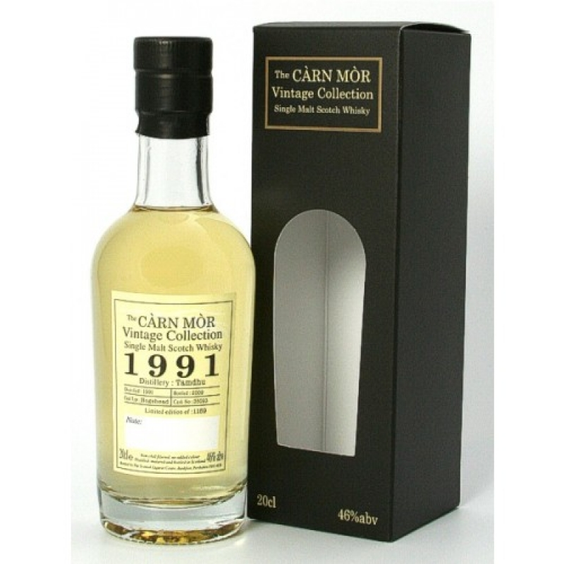 Tamdhu 1991 - Hogshead No. 35093 - The Càrn Mòr Vintage Collection - Single Malt Scotch Whisky - Brühler Whiskyhaus - Brühl