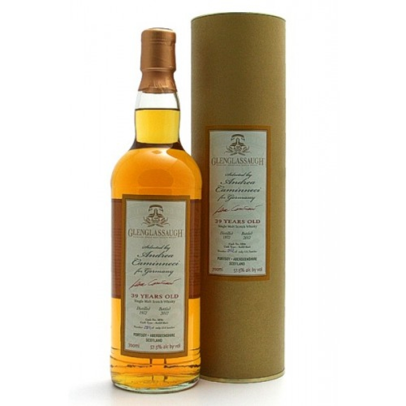Glenglassaugh 39 Jahre - Refill Butt No. 2896 - Selected by Andrea Caminneci for Germany - Brühler Whiskyhaus - Brühl