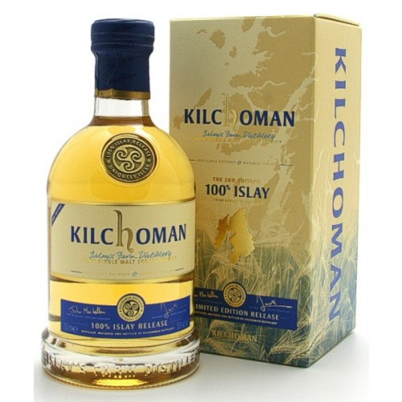 Kilchoman 100% Islay Release - Second Edition - Islay Single Malt Scotch Whisky - Brühler Whiskyhaus - Brühl