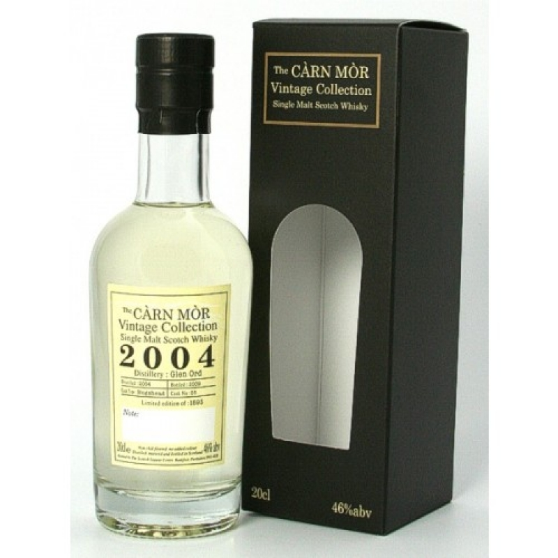 Glen Ord 2004 - Hogshead No. 55 - The Càrn Mòr Vintage Collection - Single Malt Scotch Whisky - Brühler Whiskyhaus - Brühl